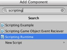Add Scripting Runtime