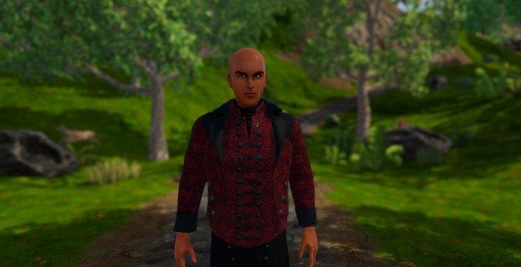 Levant Suit in SineSpace