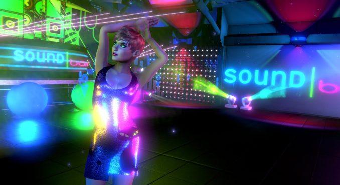Marisol Dress at the SoundBar nightclub in SineSpace