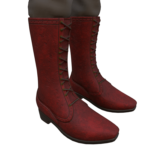 Boots in Red