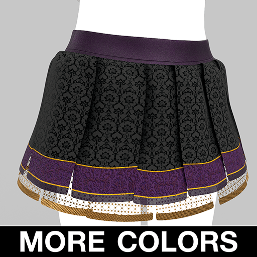 BlakOpal Luscious Pirate Skirt