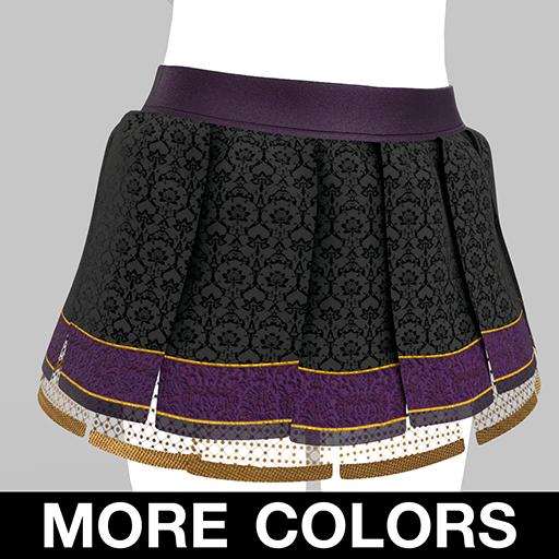 BlakOpal Luscious Pirate Skirt