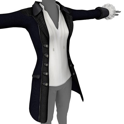 Black Ladies' Coat