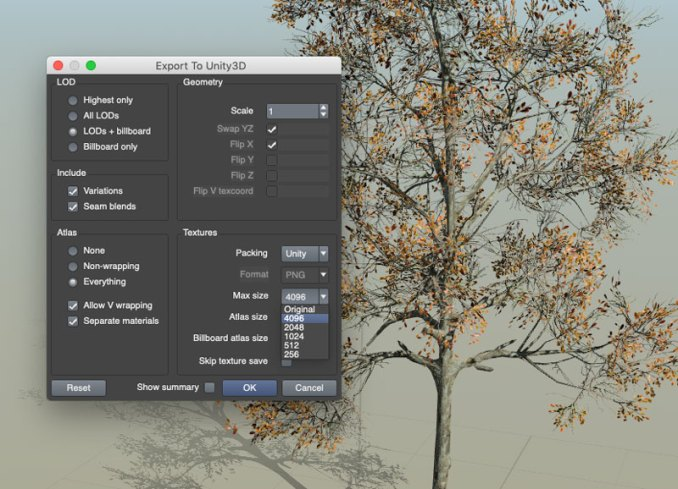 Export To Unity