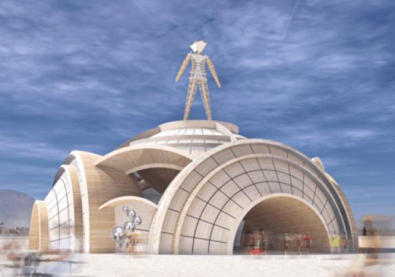 Burning Man Multiverse Pavilion