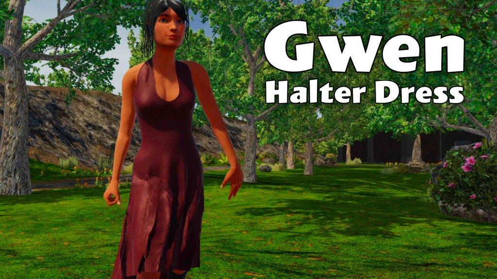 Gwen Halter Dress