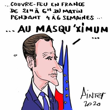Macron en direct