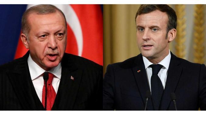 Erdoğan -Macron