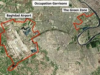 Zone Verte à Bagdad