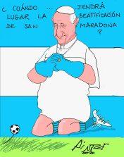 san Maradona Beatificacion