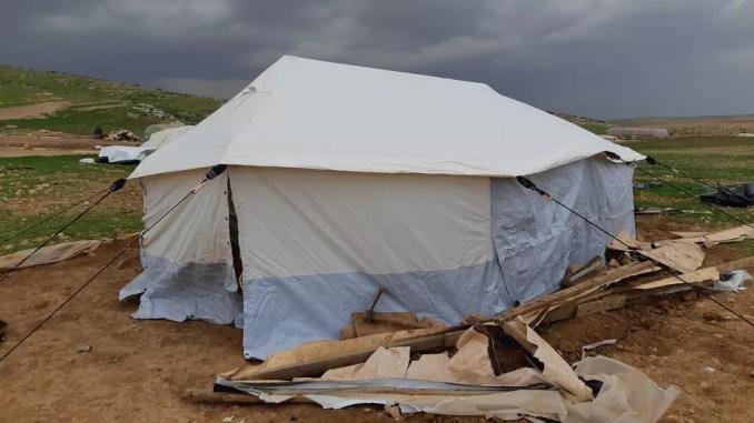 en Cisjordanie, l'armée israélienne multiplie les destructions de campements bédouins
