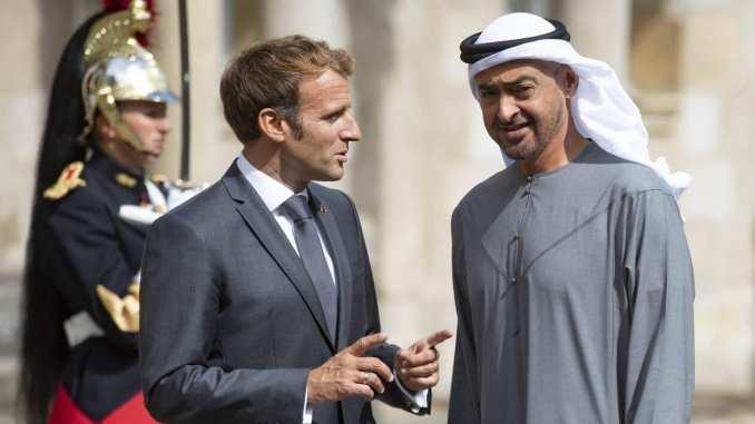 Emmanuel Macron reçoit le prince héritier d'Abou Dhabi, partenaire clé dans le Golfe