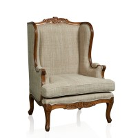 Louis XV Bergere Wingback Occasional Chair 1  Trilogy ...