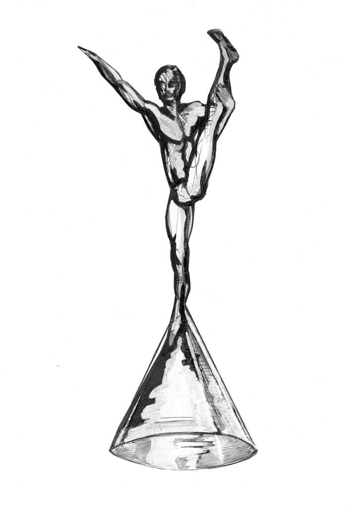 59. Calice o Trofeo - 2005 disegno preparatorio cm 29.7x21 -3
