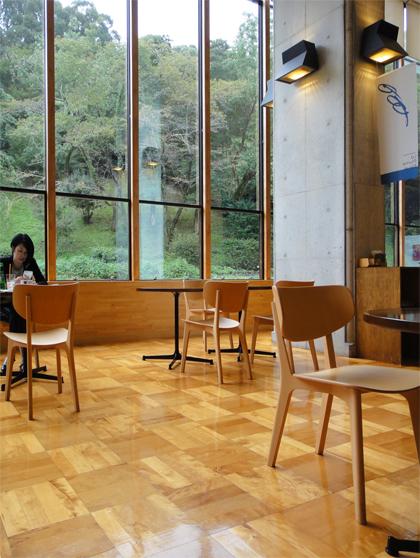 山口県立美術館カフェ