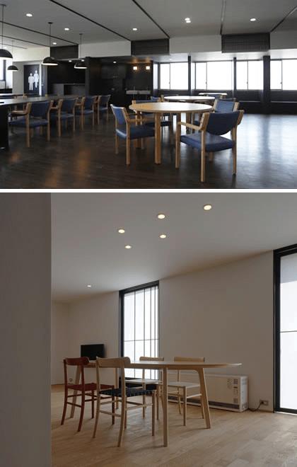 デイサービスと住宅の設計
