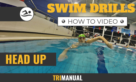Swim Video: Head Up Drill
