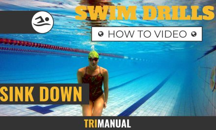 Swim Video: Sink Down Drill