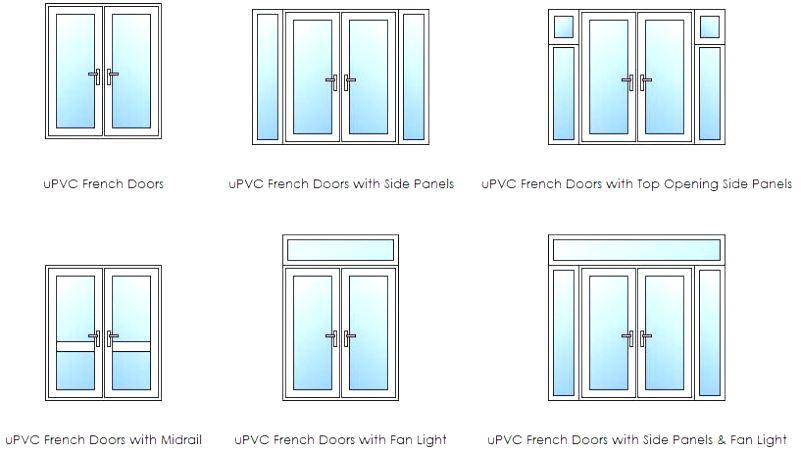 french door layouts