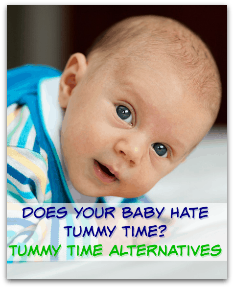 Stopping Newborn Tummy Time Crying