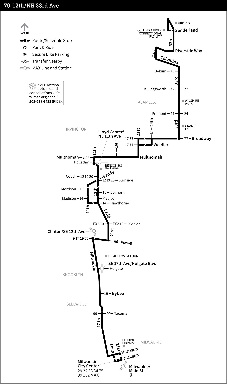 70-12th/NE 33rd Ave