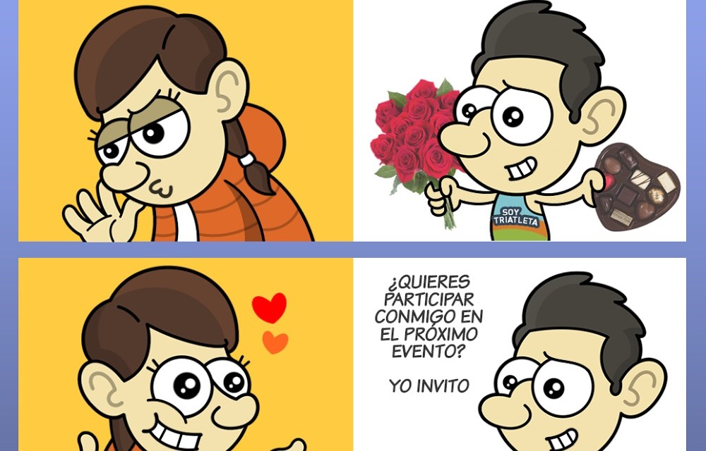 San Valentín Triatleta