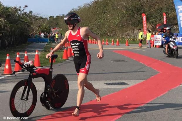 Cody Beals y Agnieszka Jerzyk ganan Ironman 70.3 Taiwán.
