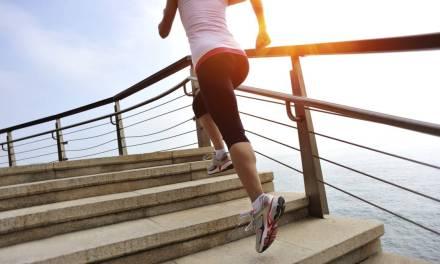 Algunos ejercicios que puedes hacer en las escaleras.