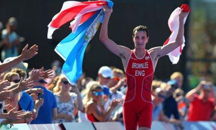 Alistair Brownlee es un enigma en distancia sprint en los Juegos de la Commonwealth.