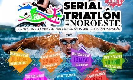 Anuncian Serial del Triatlón en Sinaloa y Sonora