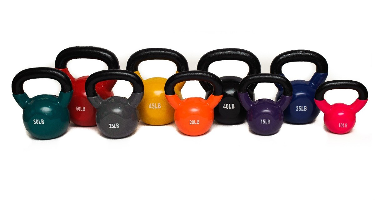 Entrenamiento con pesas rusas (kettlebells) para atletas de resistencia