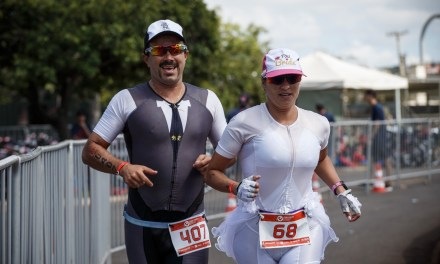 Una pareja de triatletas intercambiaron su luna de miel en la playa por el Championship e Samorin y Challenge Roth.