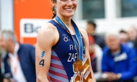 Katie Zaferes sube al No. 1 en la clasificación de la Serie Mundial de Triatlón de la ITU.