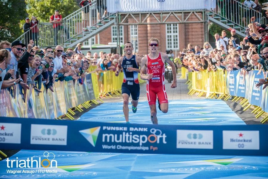 Andreas Schilling y Sandrina Illes, gana títulos mundiales en el evento de apertura de los Campeonatos Mundiales de Multideporte de 2018.