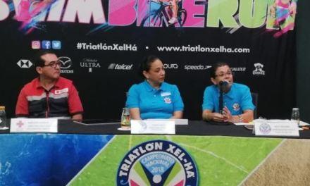 Celebra triatlón Xel-Ha su décimo aniversario.
