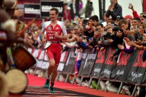 PORT ELIZABETH - SEPTEMBER 2: Alistair Brownlee of Great Britain runs to a 2nd Place finish during the Isuzu IRONMAN 70.3 World Championship Men in Port Elizabeth, South Africa on September 2, 2018. Over 4,500 athletes from over 100 countries will be represented in this years 70.3 World Championship. (Photo by Donald Miralle/Getty Images for IRONMAN).