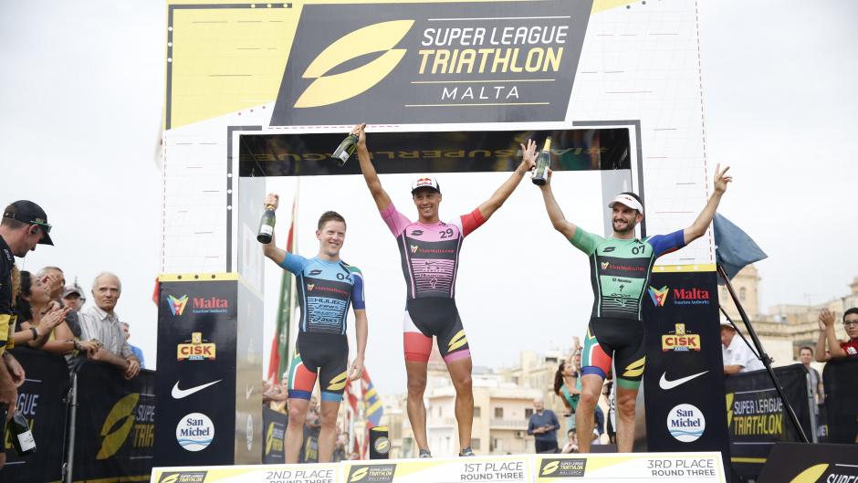 Vincent Luis y Katie Zaferes lo vuelven a hacer y ganan la Super League Malta