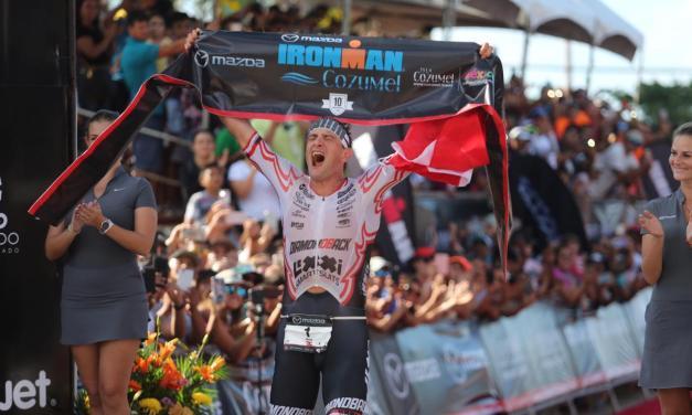 El triatleta Michael Weiss gana en Cozumel con un Sub-8 y más de 12 mins de ventaja.