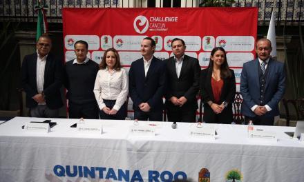 Presentan Challenge Cancún, a realizarse el 28 de abril