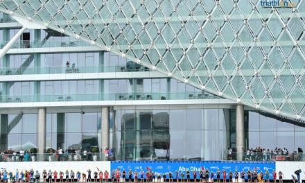 Explosión de adrenalina con el inicio de las Series Mundiales de Triatlón en Abu Dhabi