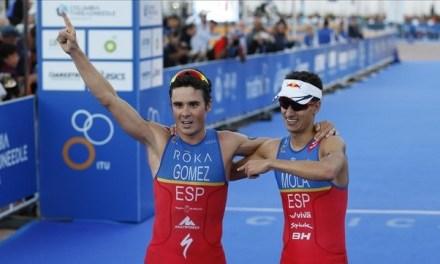 Respeta Gómez Noya nivel de Mola y sabe que es el referente nuevo del triatlón mundial