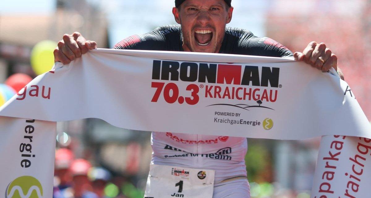 Frodeno corre primer 70.3 desde 2018 y gana la prueba en Kraichgau