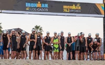 Se preparan en Los Cabos para la edición 2019 del IRONMAN 70.3