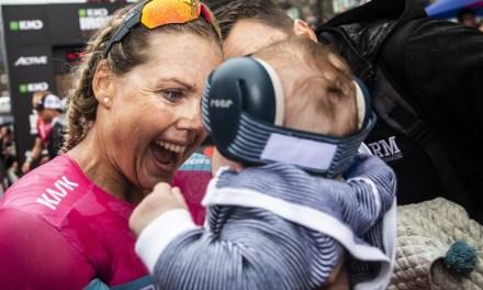 Apenas quince semanas desde el parto y Michelle Vesterby logra Top 5 en el IM Copenhagen