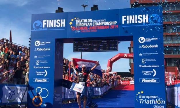 Pone Van Vlerken broche de oro a su carrera en el triatlón con el triunfo en el CHALLENGE Almere-Amsterdam