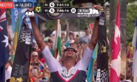 Rompe Frodeno el récord mundial y es el rey del IRONMAN por tercera ocasión