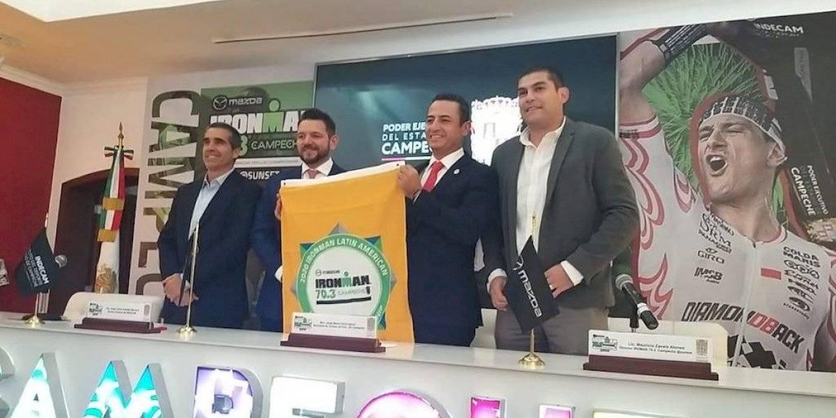 Presentan cuarta edición del IRONMAN 70.3 Campeche, a realizarse el 15 de marzo