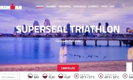 Posponen y cancelan varios triatlones en EU por restricciones de viaje