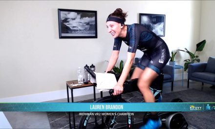 Ganan Sam Long y Lauren Brandon la segunda prueba de la Virtual IRONMAN Race