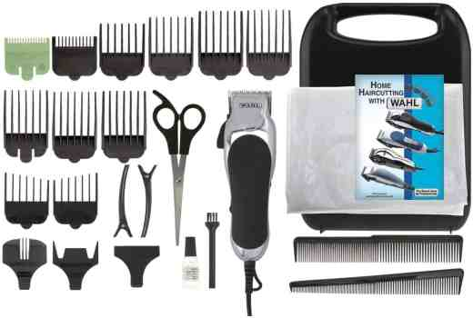 Wahl Chrome Pro 24 pc Haircut Kit
